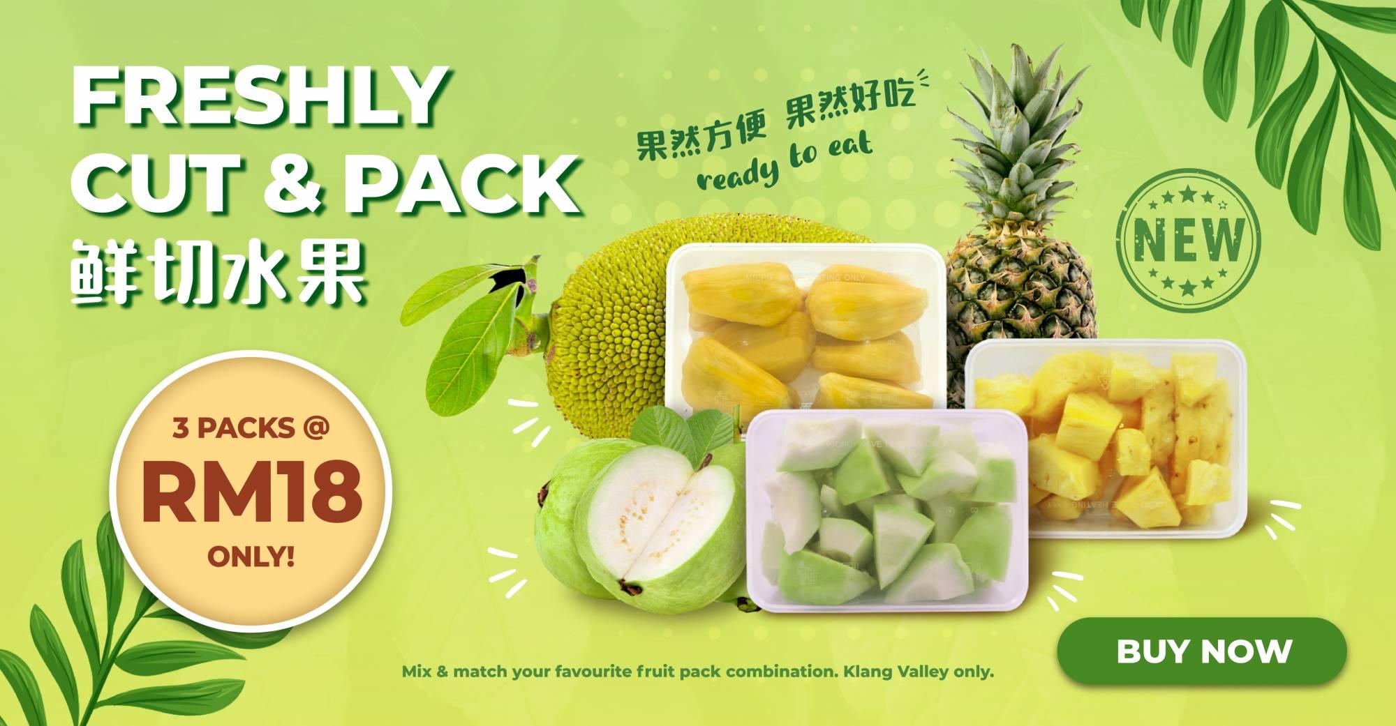 Fresh Fruit Pack Promo